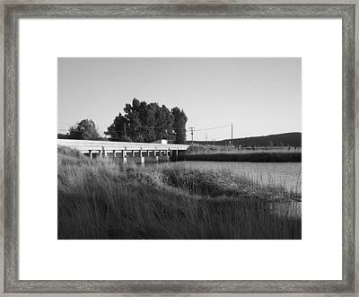 A Lost Age Framed Print by James Rishel