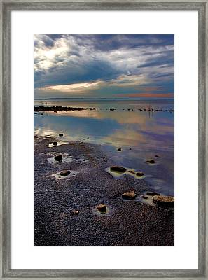 A Lotta Watta Framed Print by Carolyn Fletcher
