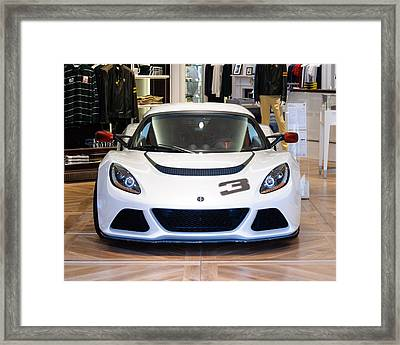 A Lotus Exige S Framed Print by Dutourdumonde Photography
