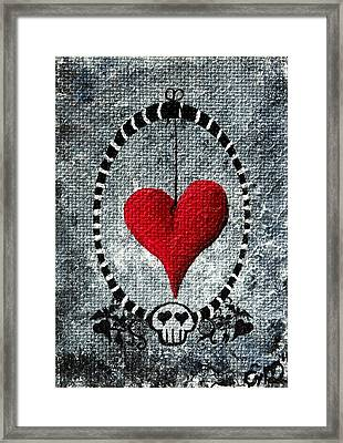 A Love Story 5 Framed Print