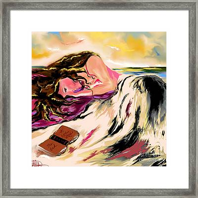 A Love Story  Framed Print by Lori  Lovetere