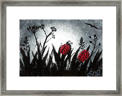 A Love Story No 14 Framed Print