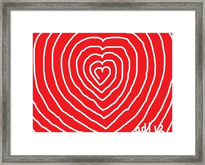 A Love That Is Without Limits Framed Print by Anita Dale Livaditis