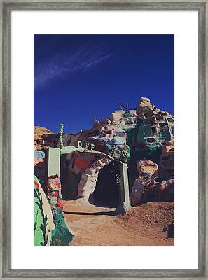 A Loving Entrance Framed Print by Laurie Search