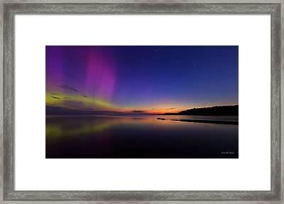 A Majestic Sky Framed Print by Everet Regal