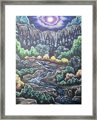 A Majestic World Framed Print