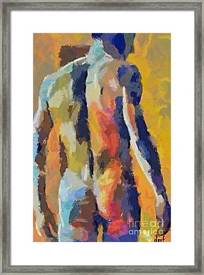 A Male Torso Framed Print