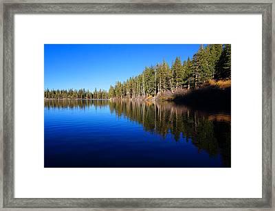 A Mammoth Lake Framed Print