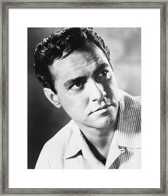 A Man Called Peter, Richard Todd, 1955 Framed Print