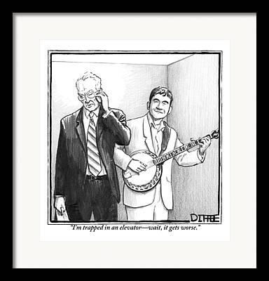 Banjo Framed Prints