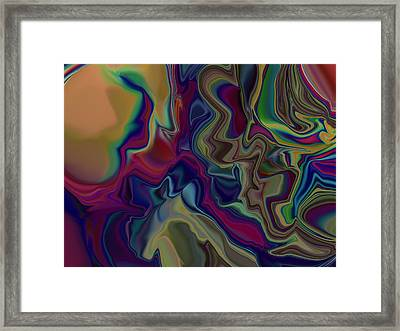 A Man Is Only As Old As The Woman He Feels Framed Print by Jim Williams