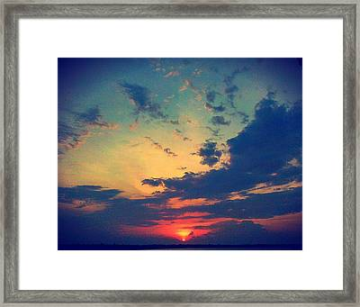 Framed Print featuring the photograph A Marvelous View by Joetta Beauford