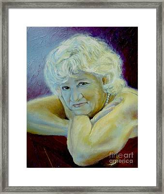 A Masters Touch Framed Print by Sharon Burger