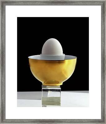 A Matroschka Eggcup Framed Print