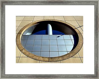A Matter Of Perspective Framed Print by Bob Wall