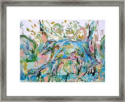 A Matter Of Spirit-dialectical Answers To The Contemporary Way Of Living Framed Print