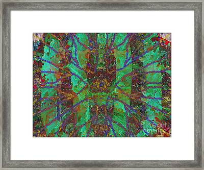 A-maze-ing Framed Print by Kathie Chicoine