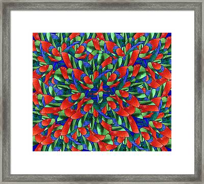 A Maze Of Nature Framed Print