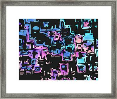 A Maze Zing - 03c01 Framed Print by Variance Collections