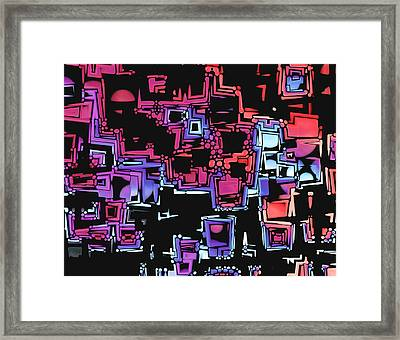 A Maze Zing - 03c07 Framed Print by Variance Collections