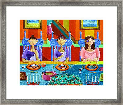 A Meal Without Rice Framed Print by Paul Hilario