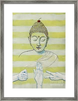 A Meditation On Chance Framed Print
