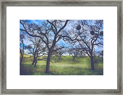 A Meeting Of Men Framed Print by Laurie Search