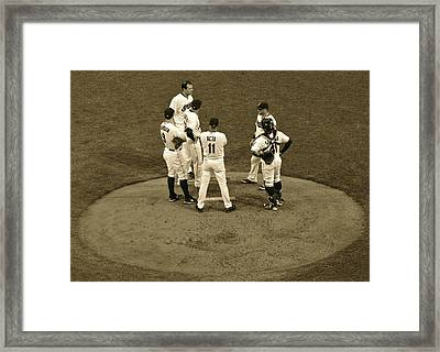 A Meeting Of The Minds Framed Print by Frozen in Time Fine Art Photography