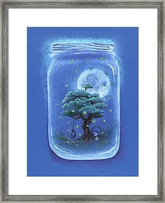 A Memory Jar Framed Print by David Breeding