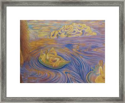 A Mer-fairie Dream Framed Print by Jacquelyn Roberts