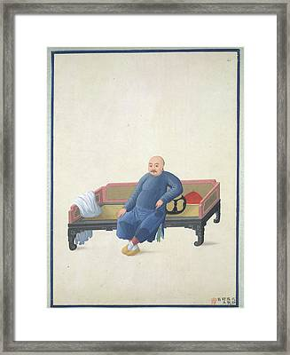 A Merchant Of Canton Framed Print