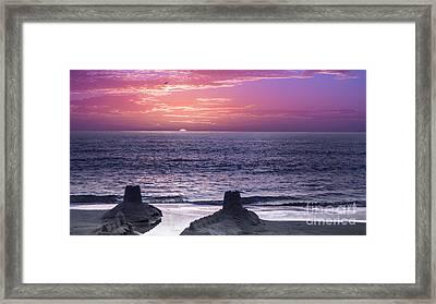 A Merman I Should Turn To Be Framed Print