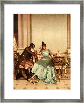 A Merry Jest Framed Print