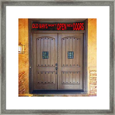 A Message For You Framed Print by Beverly Guilliams
