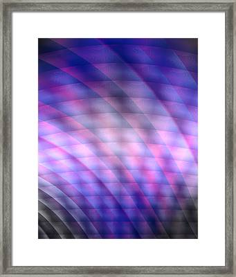 Message In My Art Framed Print