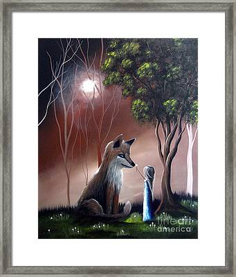 A Midnight Moment By Shawna Erback Framed Print by Shawna Erback