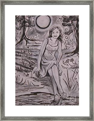 A Midsummer Night's Dream Play Framed Print