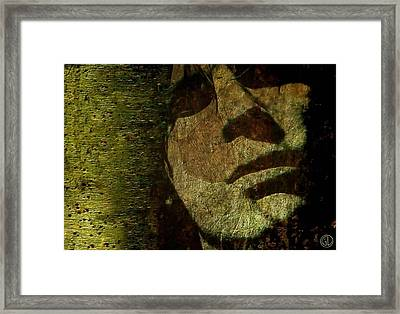 A Minute Of Reflection Framed Print by Gun Legler