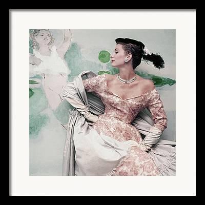 Gray Shawl Framed Prints