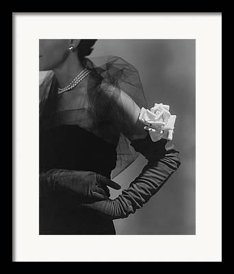 Long Gloves Framed Prints
