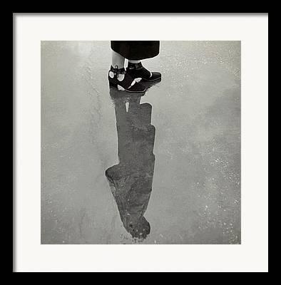 Ankle Strap Shoes Framed Prints
