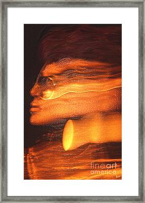 A Modern Woman Framed Print by Jeff Breiman
