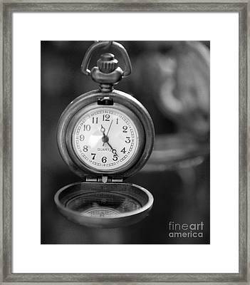 A Moment In Time Framed Print by Nina Silver