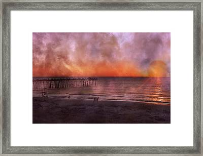 A Moment Inspired Together Framed Print by Betsy Knapp