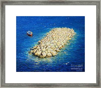 A Moment Of Eternity Framed Print by Kiril Stanchev