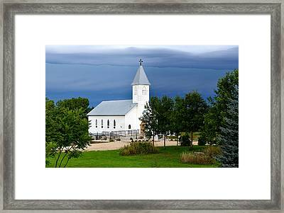A Moment Of Peace Framed Print
