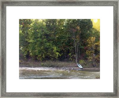 A Moment Of Solitude Framed Print
