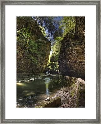 A Moment Of Stillness Framed Print by Joshua House