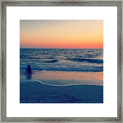 Framed Print featuring the photograph A Moment To Remember by Melanie Moraga