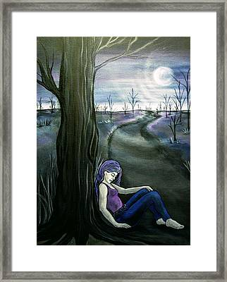 A Moment To Rest Framed Print by Jan Wendt